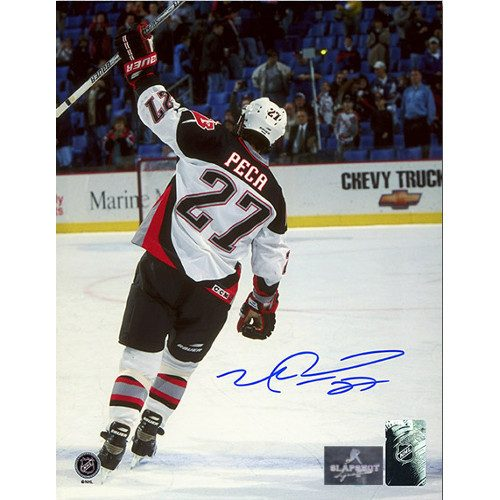 Mike Peca Buffalo Sabres Autographed Farewell 8x10 Photo