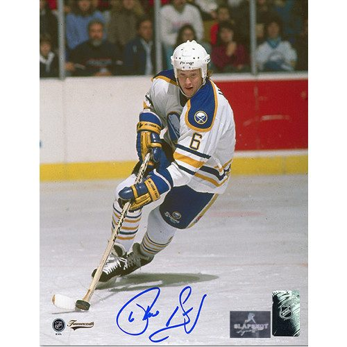 Phil Housley Buffalo Sabres Autographed Hockey Playmaker 8x10 Photo