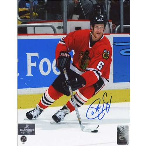 Phil Housley Chicago Blackhawks Autographed 8x10 Photo
