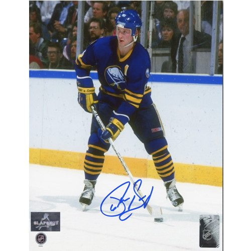 Phil Housley Autographed Buffalo Sabres USA Hockey Legend 8x10 Photo