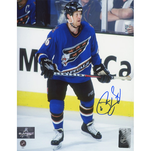 Phil Housley Washington Capitals Autographed Hockey 8x10 Photo