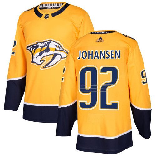 Ryan Johansen Nashville Predators Adidas Authentic Home NHL Hockey Jersey