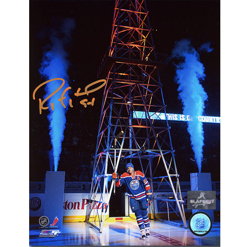 Ryan Smyth Signed Photo-Edmonton Oilers Return 2 Oil Country 8x10 Photo