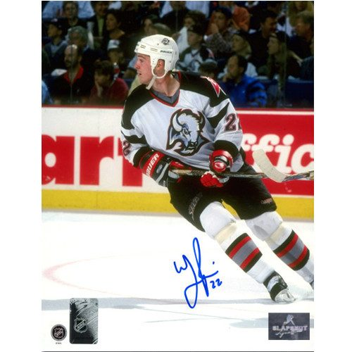 Wayne Primeau Buffalo Sabres Autographed Action 8x10 Photo