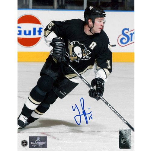 Wayne Primeau Pittsburgh Penguins Autographed Action 8x10 Photo