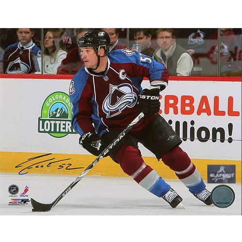 Adam Foote Captain Colorado Avalanche Autographed 8x10 Photo