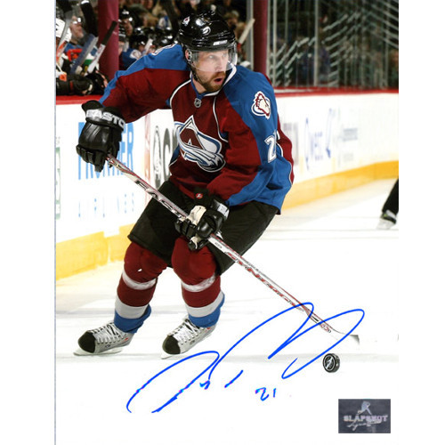Peter Forsberg Autographed Photo Colorado Avalanche Playmaker 8x10