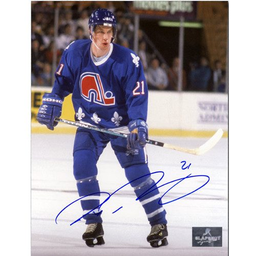 Peter Forsberg Quebec Nordiques Signed 8X10 Photo