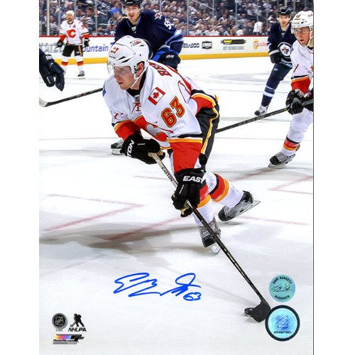 Sam Bennett Flames 1st NHL Game Autographed Photo 8x10