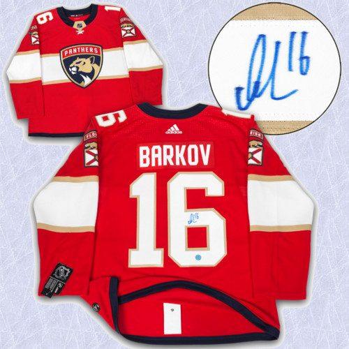 Alexander Barkov Adidas Jersey Signed-Florida Panthers