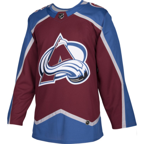 Colorado Avalanche Adidas Jersey Authentic Home NHL Hockey Jersey