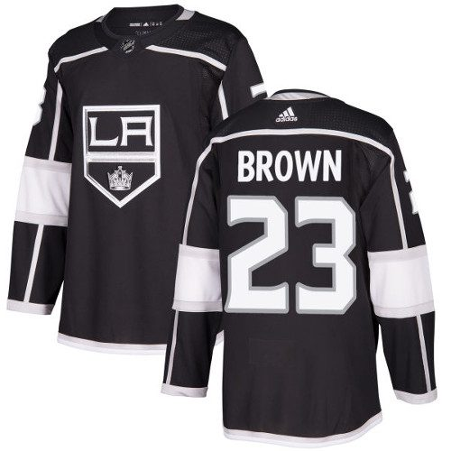 Dustin Brown Los Angeles Kings Adidas Authentic Home NHL Hockey Jersey