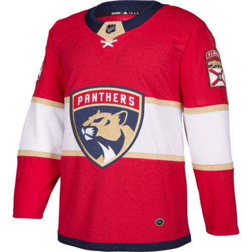 Florida Panthers Adidas Jersey Authentic Home NHL Hockey Jersey