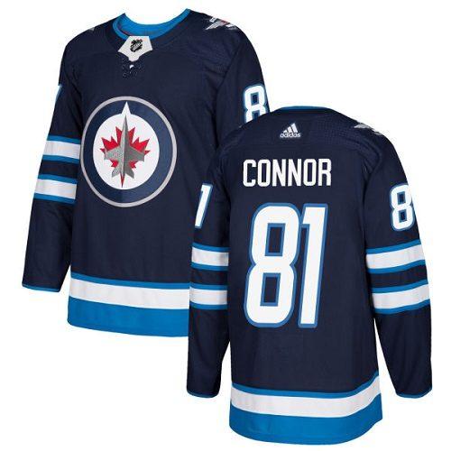 Kyle Connor Winnipeg Jets Adidas Authentic Home NHL Hockey Jersey