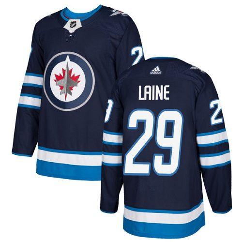 Patrik Laine Winnipeg Jets Adidas Authentic Home NHL Hockey Jersey