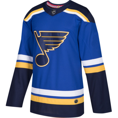 St. Louis Blues Adidas Jersey Authentic Home NHL Hockey Jersey