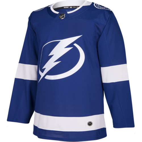 Tampa Bay Lightning Adidas Jersey Authentic Home NHL Hockey Jersey