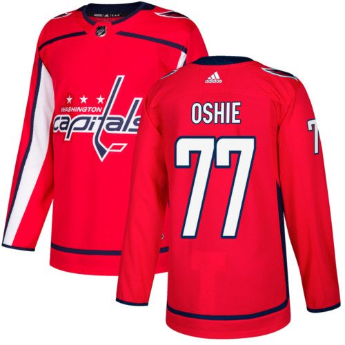 T.J. Oshie Washington Capitals Adidas Authentic Home NHL Hockey Jersey