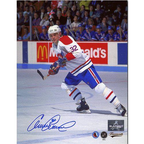 Claude Lemieux Montreal Canadiens Autographed Hockey Action 8x10 Photo