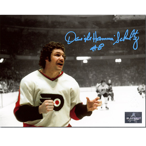Dave Schultz Philadelphia Flyers Autographed Spotlight Fight 8x10 Photo