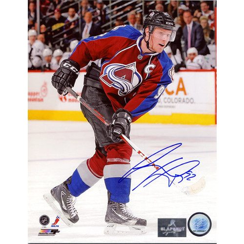 Gabriel Landeskog Autographed Photo Colorado Avalanche Captain 8x10