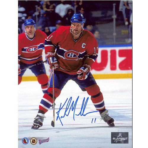 Kirk Muller Montreal Canadiens Autographed Captain 8x10 Photo