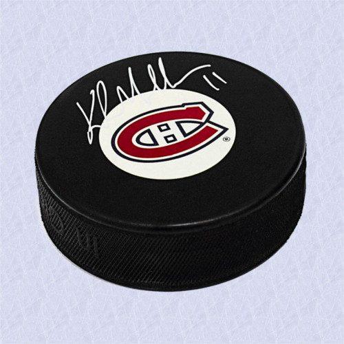 Kirk Muller Montreal Canadiens Autographed Hockey Puck