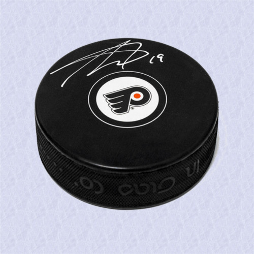 Nolan Patrick Signed Philadelphia Flyers Hockey Puck