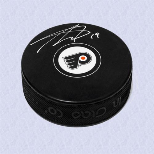 Nolan Patrick Signed Philadelphia Flyers Hockey Puck