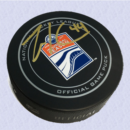 Zack Kassian Signed Rogers Place 1st Season Official Game Puck-Edmonton Oilers