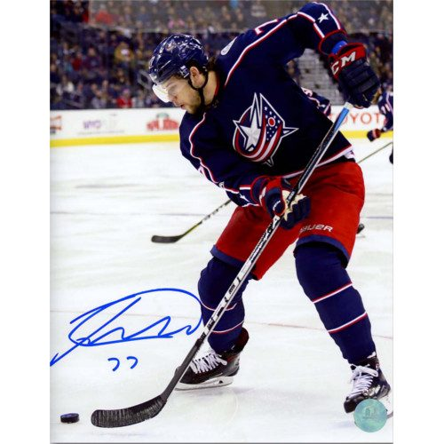 Josh Anderson Signed Columbus Blue Jackets 8x10 Action Photo