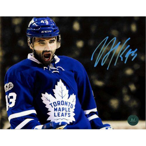 Nazem Kadri Toronto Maple Leafs Signed 8X10 Spotlight Photo