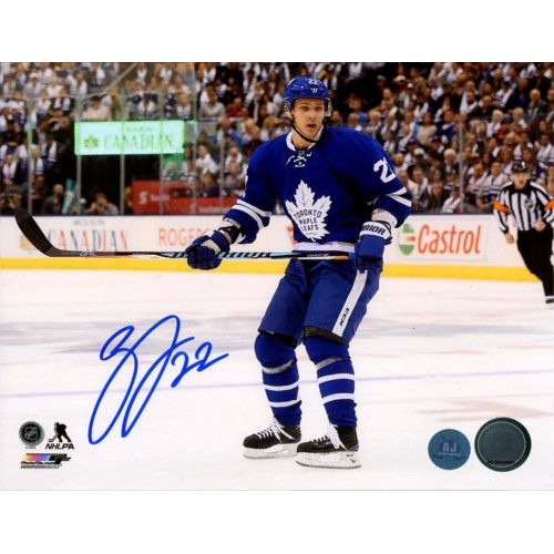 Nikita Zaitsev Toronto Maple Leafs Signed 8X10 Photo