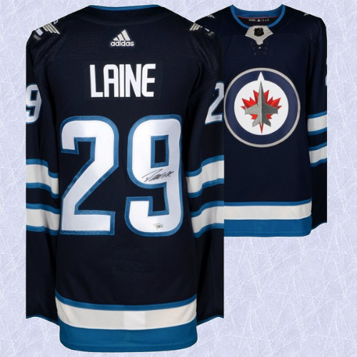 Patrik Laine Winnipeg Jets Signed Adidas Home Jersey
