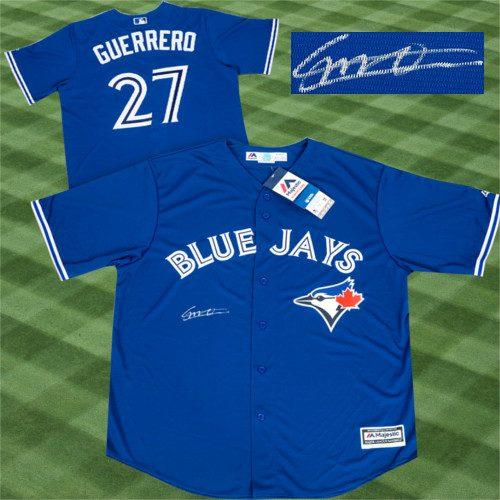 Vladimir Guerrero Jr Toronto Blue Jays Autographed Replica MLB Baseball Jersey