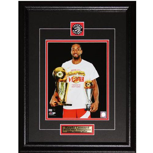Kawhi Leonard Toronto Raptors 2019 MVP & NBA Finals Champion 8X10 Framed Photo