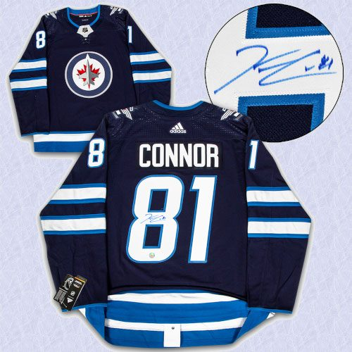 Kyle Connor Winnipeg Jets Autographed Adidas Authentic Hockey Jersey