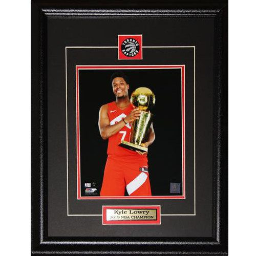 Kyle Lowry Toronto Raptors 2019 NBA Finals Champion 8x10 Framed Photo