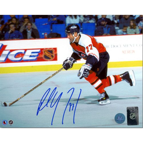Paul Coffey Philadelphia Flyers Autographed Hockey Rush 8x10 Photo