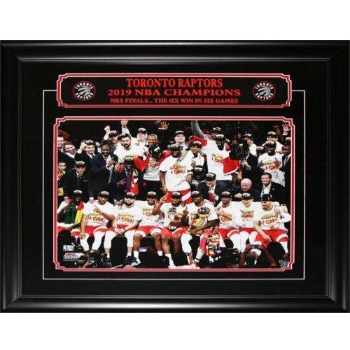 Toronto Raptors 2019 NBA Finals Championship 16X20 Team Photo Collector Frame
