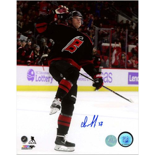 Andrei Svechnikov Carolina Hurricanes Autographed 1st NHL Goal 8x10 Photo