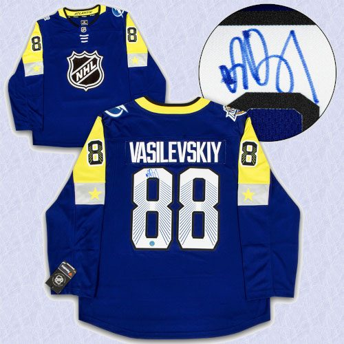 Andrei Vasilevskiy 2018 All Star Game Autographed Fanatics Hockey Jersey