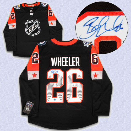 Blake Wheeler 2018 All Star Game Autographed Fanatics Hockey Jersey