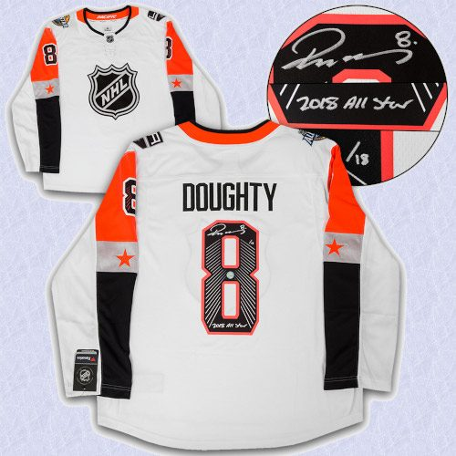 Drew Doughty 2018 All Star Game Signed & Inscribed Adidas Authentic Jersey /18
