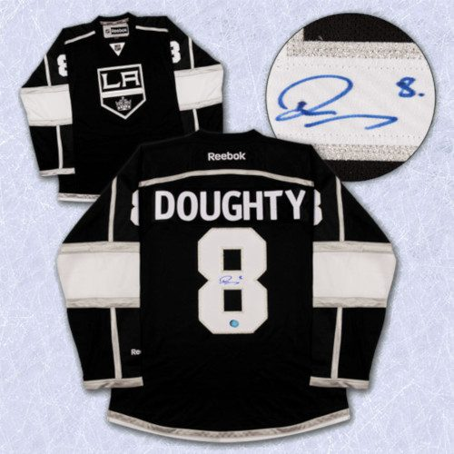 Drew Doughty Los Angeles Kings Autographed Reebok Premier Hockey Jersey