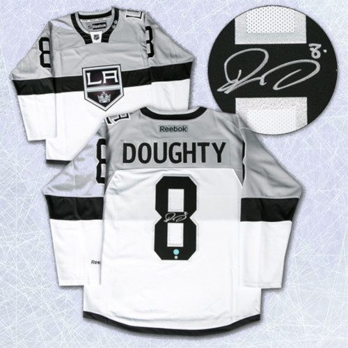 Drew Doughty Los Angeles Kings Signed 2015 Stadium Series Reebok Premier Jersey