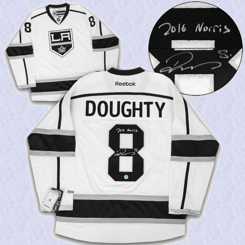 Drew Doughty Los Angeles Kings Signed Reebok Hockey Jersey with 2016 Norris Note