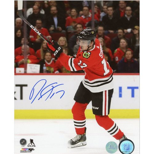 Dylan Strome Chicago Blackhawks Autographed NHL Hockey 8x10 Photo
