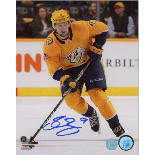 Filip Forsberg Nashville Predators Autographed Hockey Playmaker 8x10 Photo