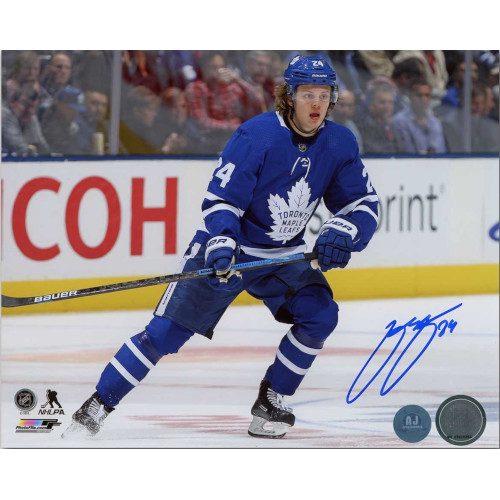 Kasperi Kapanen Toronto Maple Leafs Autographed 8x10 Photo